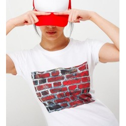 T-shirt Mur de Briques