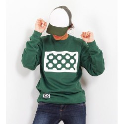 Sweat shirt Col rond Points